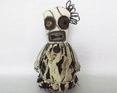 Voodoo Doll Day of the Dead Doll FeedDogz Horror Doll Creepy Rag Doll