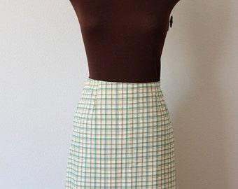 50% OFF SALE Vintage 1960's Summer Fields Mini Skirt (s)