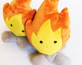 Big Campfire Carl - Soft Plush Pretend Fire - Ready to Ship
