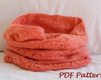 KNITTING PATTERN- Oversized Snood in PDF knitting pattern