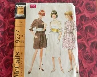 60's Vintage Mccalls Miss Dress