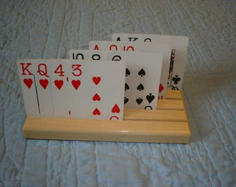 Playing Cards Holders - Set of 4