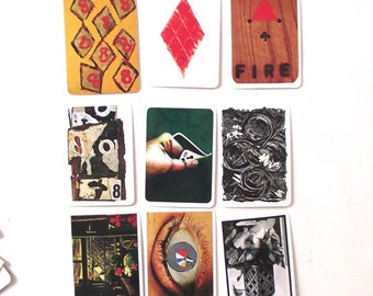 Alan Driscoll Deck of Cards, Complete Mint Artist Illustrated Playing Cards from 1979 (A1)