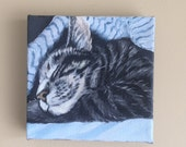 "For Molly 4"" x 4"" Custom Pet Portrait"