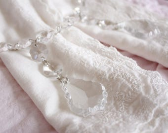 Elegant Crystal Napkin Rings - set of 4 - wedding