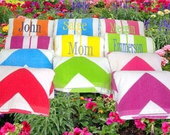 Set of 25 Bridesmaids Gift Beach Towels