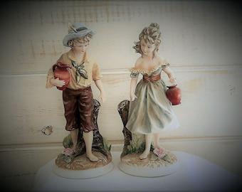 Andrea By Sadek - Boy & Girl Figurines