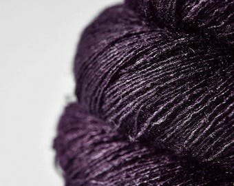 Last dance is over - Tussah Silk Lace Yarn