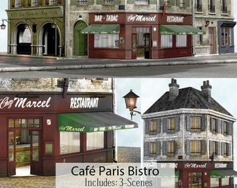 3d digital backgrounds instant download cu ok paris - Scrapbooking paris boutique ...