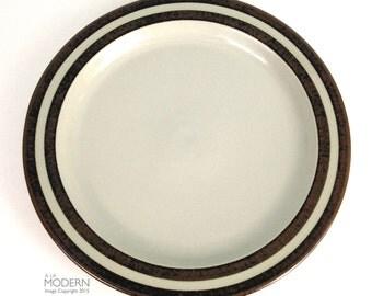 "Arabia Finland Karelia 13 1/8"" Round Chop Plate Platter Scandinavian Modern"