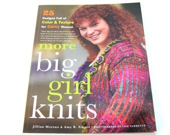 More Big Girl Knits by Jillian Moreno and Amy R. Singer, Knitting Pattern Book