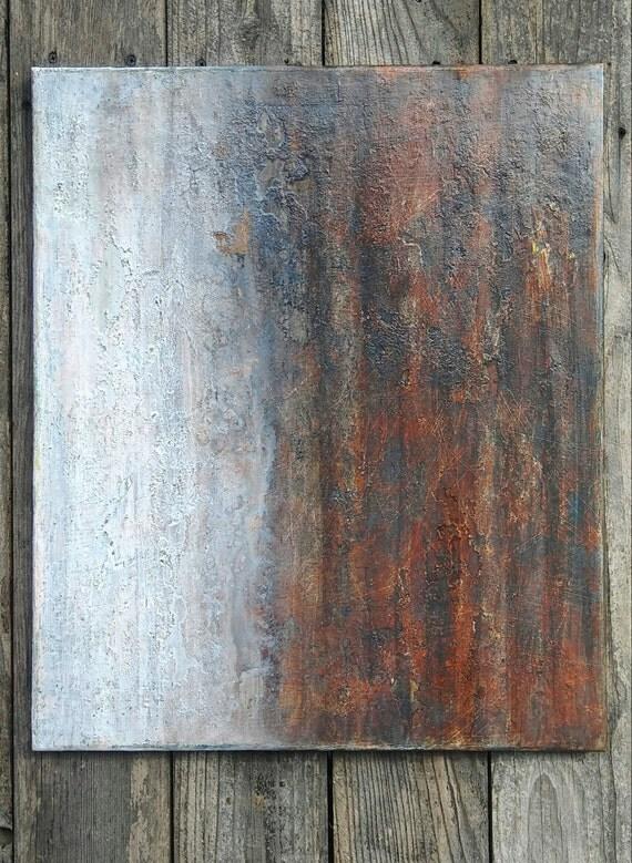 Minimalist texture painting modern texture canvas wall art for Texture painting ideas canvas