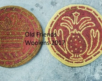 Redware Hook Rug Chair Pad Patterns