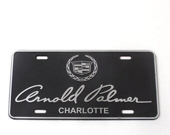 Vintage Arnold Palmer License Plate