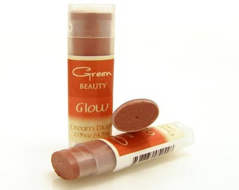 Cream Blush, Glow, Natural Cosmetics, Cheek Stain, Cheek Blush, Makeup, Lip Stick, Natural Blush, Blush, Mineral Blush