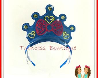 Princess Snow Apple Crown Headband
