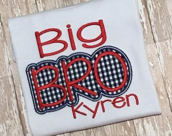 Big Bro Applique Shirt