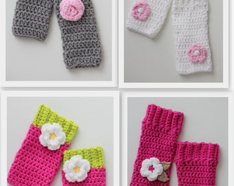 SALE Baby girl leg warmers, ready to ship