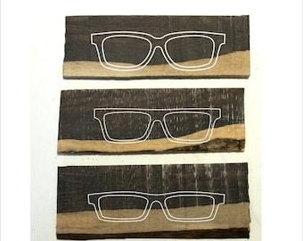 Christmas 30% OFF Customized handmade two tone ebony wood frames prescription glasses sunglasses TAKEMOTO