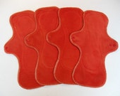 ONE UltiMini Reusable Cloth Pad - organic cotton velour