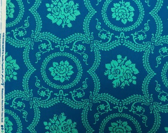 Casey Scroll turquoise Jennifer Paganelli Sis Boom Basics Free Spirit fabric FQ or more
