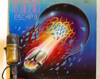 "ON SALE Journey Vinyl Record LP 1980s San Francisco Bay Area Pop Rock Steve Perry Neal Schon, Journey - ""Escape"" (1981 Cbs w/""Don't Stop Bel"