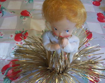 super cute angel tree topper