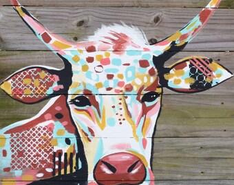 NEW! 11x14 Cow PRINT.
