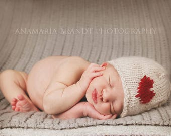 Little Love Valentines Knit Hat Set (GRAY/RED - RTS)