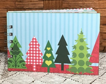 Christmas Scrapbook Album Holiday Mini Album Christmas Album