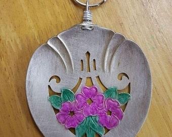 Silver Spoon Key Chain