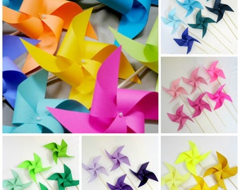 Paper Pinwheels Birthday Decorations ADD ON ONLY With Purchase Of Full Set Of Pinwheels From Shop Photo Backdrop Table Centerpiece