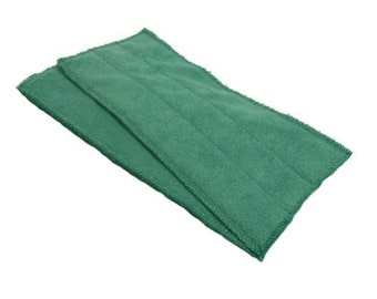 Swiffer Wet Jet Pads- Set of 2- GREEN- Microfiber- Refill- Reusable- Ecofriendly- 13004