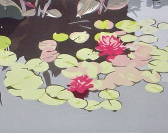Lily Pads, limited edition serigraph