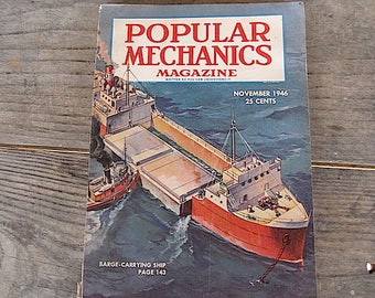 1946 Popular Mechanics Magazine