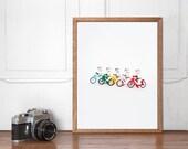 Stormtrooper Bike Gang, Star Wars Lego Wall art Printable, Start Wars Poster, Home Decor, Nursery Decor, Instant Download