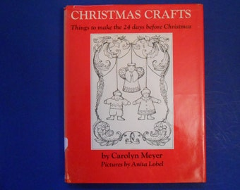 Christmas Crafts, Things to Make the 24 Days Before Christmas, Vintage Advent Craft Book