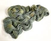 Early Morning Rain . Leah. Silk / Cotton Lace Yarn.
