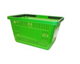 Jumbo Green Shopping Basket