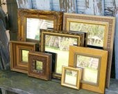 7 Ornate Shades of Gold Wall Mirrors Shabby Chic Home Decor