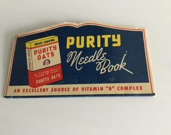 Purity Flour Needle Book