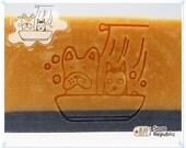 Dog Bath / Acrylic Soap Stamp ( Soap Republic )