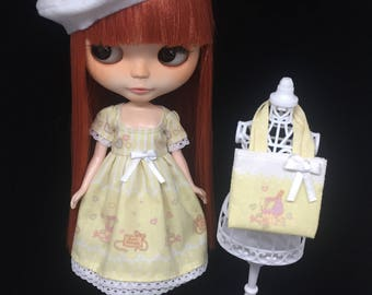 Sweet set for Blythe doll -Sweet party yellow-