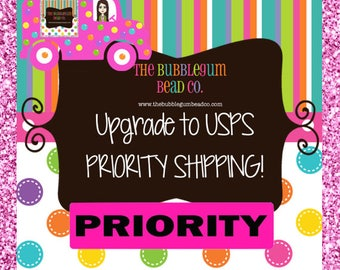 USPS UPGRADE SHIPPING to United States Priority Mail