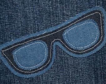 Denim Sunglasses Patch