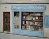 Miniature French Book Shop front reserved for Felece