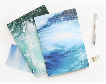 4 Pcs Sea Distant Place Traveler's Journal Notebook Journal Planner Journal Insert Planner Insert Hand Book