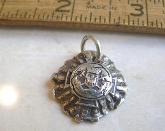 SAMPLE SALE -Wax Seal Jewelry- Talisman Heraldry Pendant  Family Crest,  Free Shipping within the U.S.  - Your Daily Jewels Antique Wax Seal