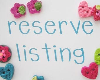 reserved for Lynn M