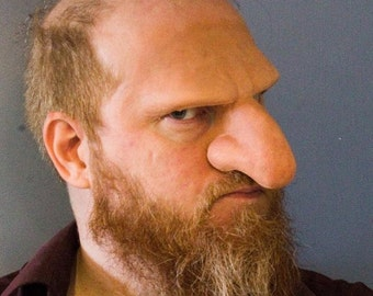 Dwarf Nose and Brow Prosthetic